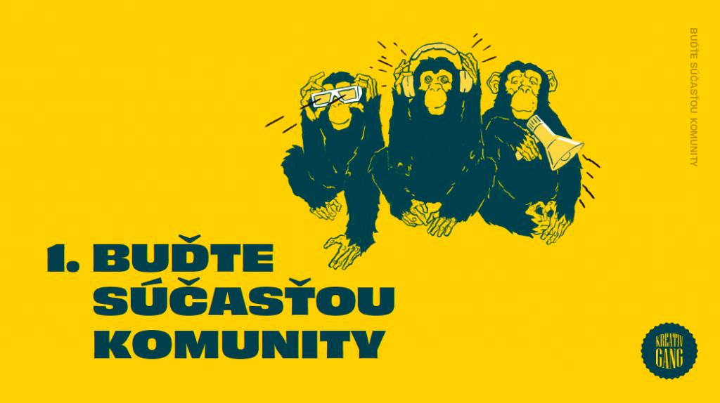 Buďte súčasťou komunity