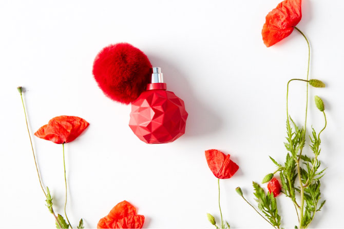Makové hlavičky s parfémom