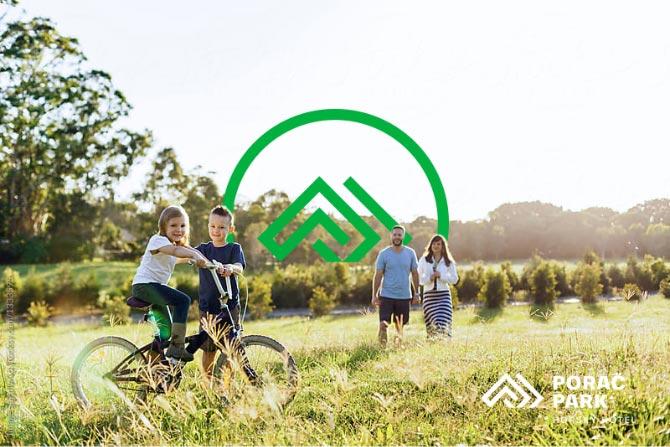 Návrh loga pre Poráč park