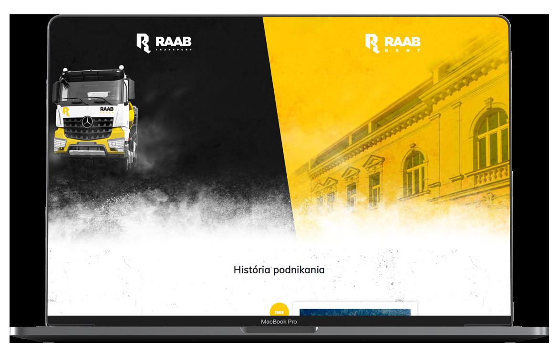Raab web stránka
