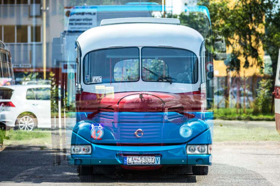 Reklamný autobus SAD Žilina