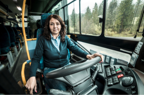 Vodička autobusu SAD Žilina