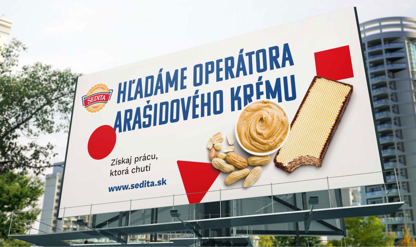 Banerová reklama na Horalku
